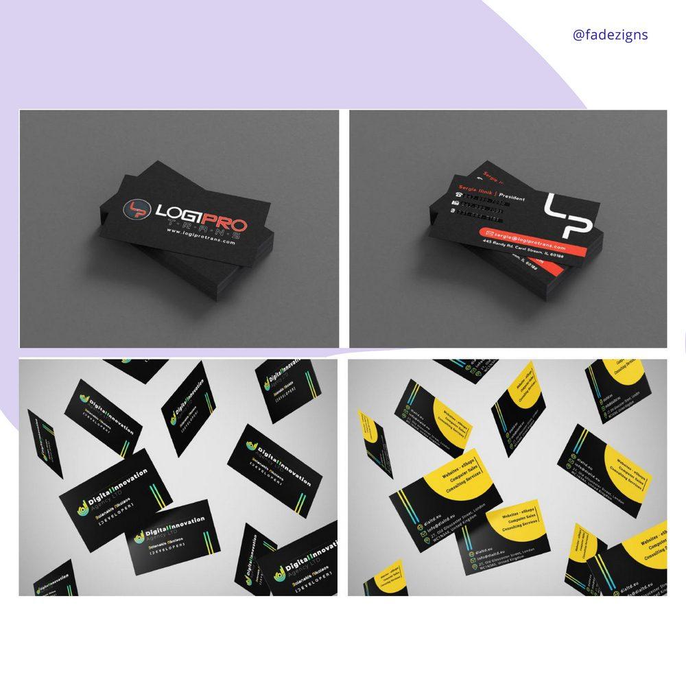 branding business cards design